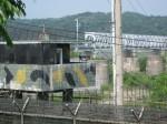 Train bridge to North Korea