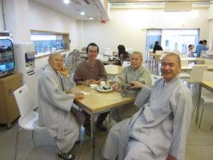More New Korean Buddhist Friends