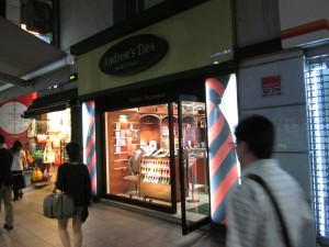 Andrew's Ties in Seoul