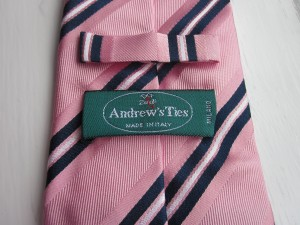 My Andrew's tie from Milano