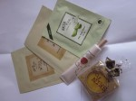 Skin Food Purchases - soap, face masks and skin cream