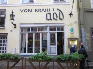 Von Krahli Aed from the street