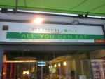 English gift to the culinary world 'all you can eat'