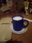 Hot milk (also available as cold)
